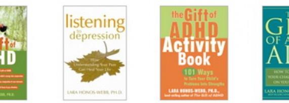 Lara Honos-Webb, Ph.D. Books For ADDer World Members!!