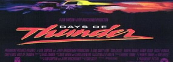 Days of Thunder or Speed Racer and Jerry Bruckheimer