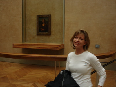 Louvre Museum Mona Lisa