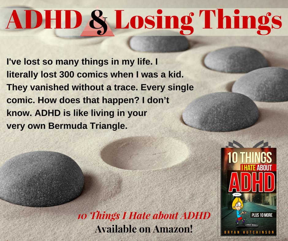 ADHD & Losing Things