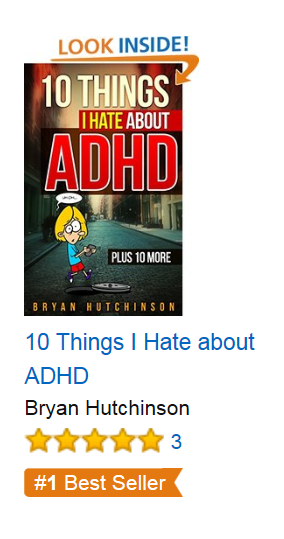 amazon ADD ADHD Book Bestseller